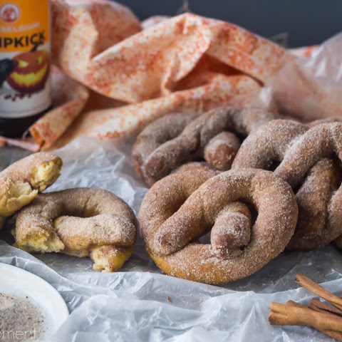 Pumpkin Beer Soft Pretzels