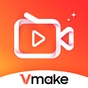 VMake: Video Editor, Video Maker With Music Photos for pc