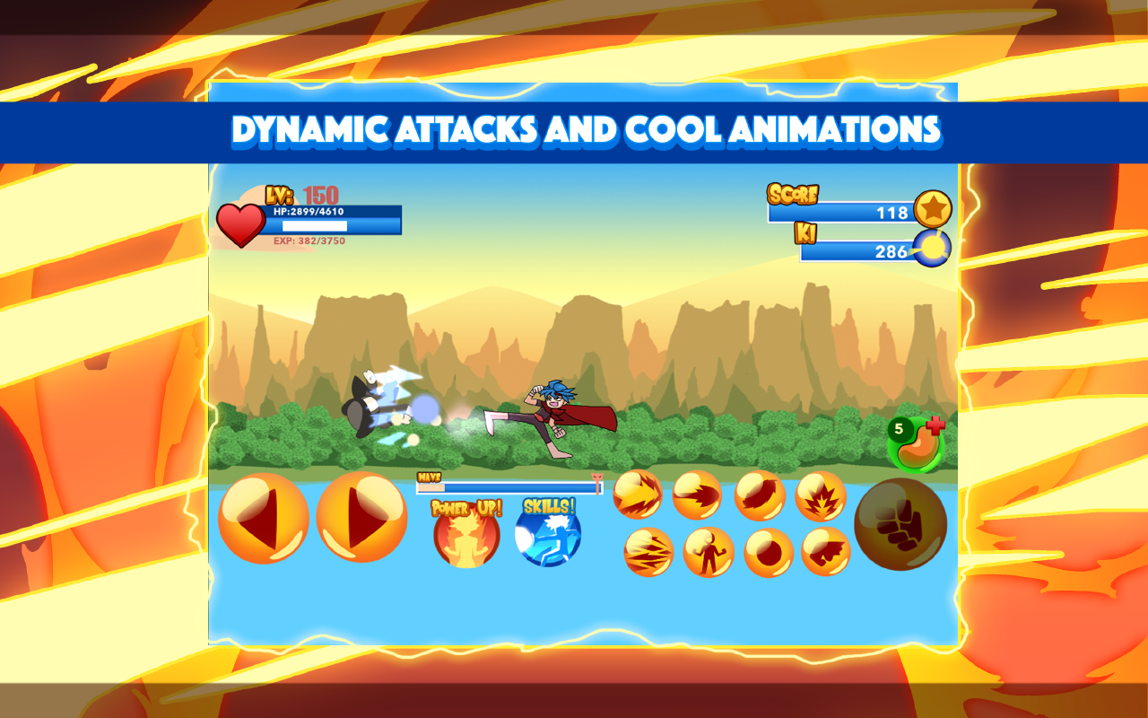 Burning God Fighter Screenshot 1