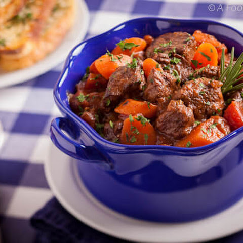 Beef and Vegetable Stew with Rosemary