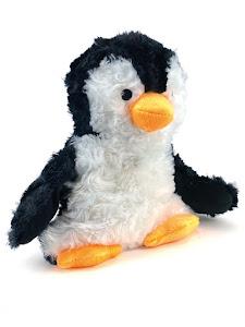 Игрушка мягконабивная плюшевая Пингвиненок-грелка, Город Игр