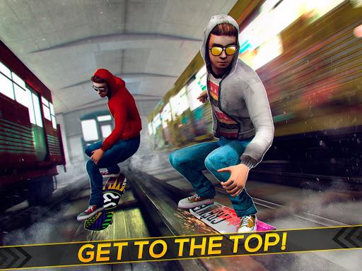 Subway Skateboard Ride Tricks - Extreme Skating screenshot 4
