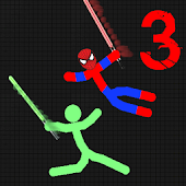 Game stickman Warriors 3 Epic Fight APK for Kindle