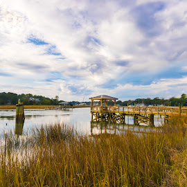 McClellanville Idyllic Retreat by Norma Brandsberg - Landscapes Waterscapes ( old, store, www.elegantfinephotography.com, marsh, award, visit, santee, plantation, dock, historic, village, mcclellanville, place, industry, timber, church, delta, horizon, quiet, intracoastal, charming, winning, vacation, brandsberg, seafood, scene, view, town, antique, small, waterway, cotton, jeremy, ocean, landscape, war, photography, naval, creek, civil, planter, trip, top, quaint, rice, shrimp, front, scenic, boat, photo, history, field, clam, scenery, norma, tour, laidback )