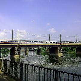 Train by Alexandru VA - Transportation Trains