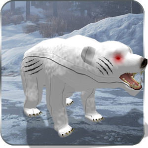 Download Robotic Polar Bear Vs Ugly Monsters for PC