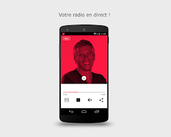 Screenshot of Radio France