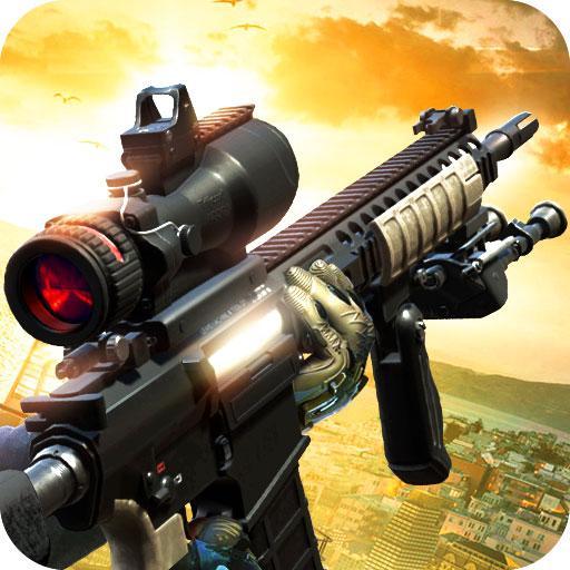 Black Battlefield Ops: Gunship Sniper Shooting APK Cracked Download