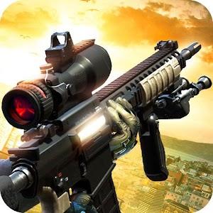 Black Battlefield Ops: Gunship Sniper Shooting Online PC (Windows / MAC)