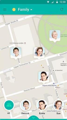 GeoZilla Family Locator - screenshot