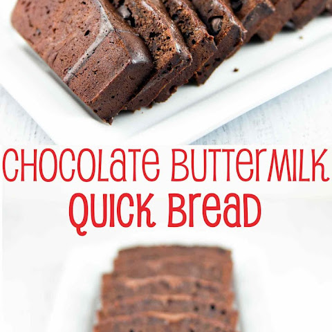 Chocolate Buttermilk Quick Bread