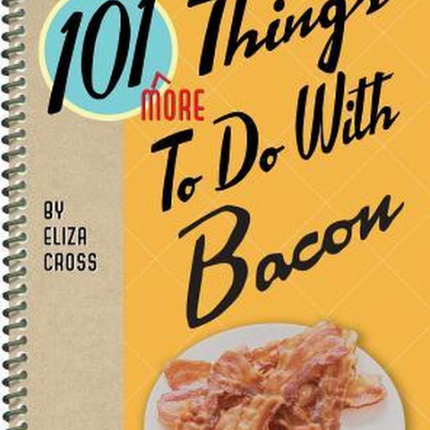 Bacon Pecan Sticky Buns + a review of 101 More Things to Do With Bacon