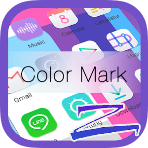 Color Mark Theme-ZERO Launcher App icon
