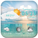 Weather & Clock Widget APK Image