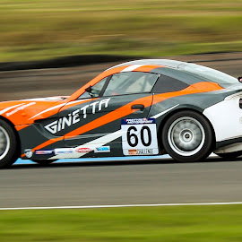 ginetta #60 by Martin Thomson - Sports & Fitness Motorsports ( btcc, ginetta junior, knockhill, ginetta, race )