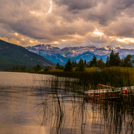 Jasper Rocky Mountains by Joseph Law - Landscapes Mountains & Hills