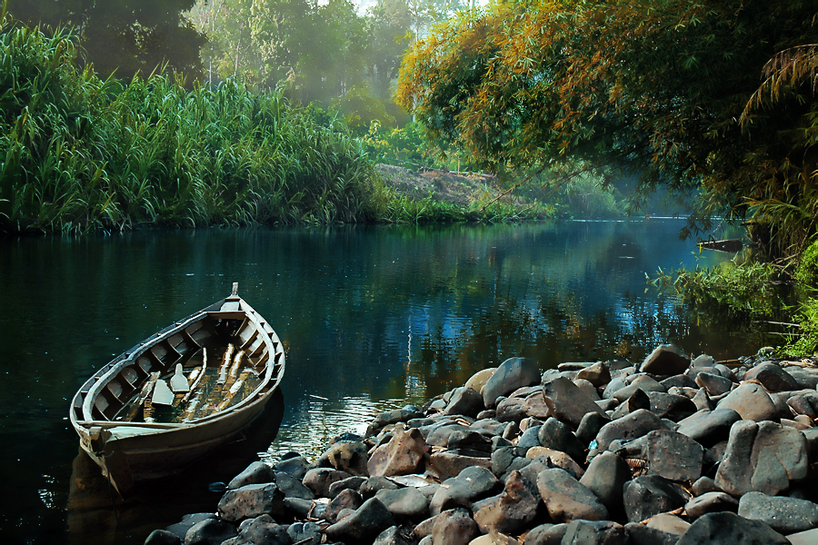 rokan river by Dedy Hermawan - Landscapes Waterscapes