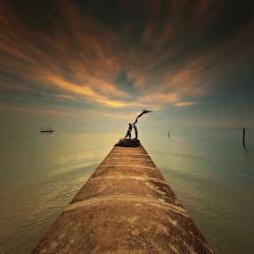 by Imam Taufik Suryanegara - Landscapes Waterscapes