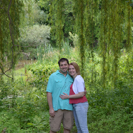 Surrounded by Green by Amanda Olejniczak - People Couples