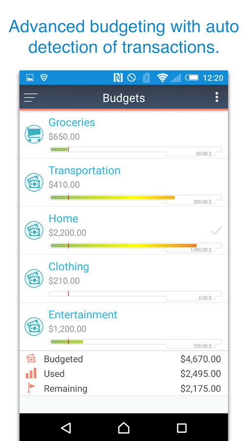 MoneyWiz 2 - Personal Finance Screenshot 3