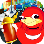 Ugandan Knuckles Dash Icon