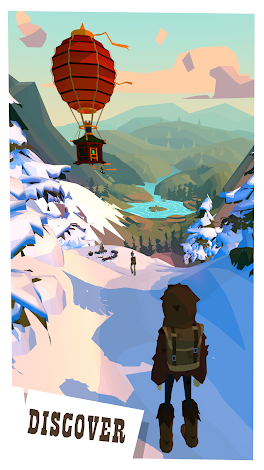 The Trail 6836 (Mod Money) Apk + Data
