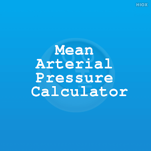 how to find the mean arterial pressure