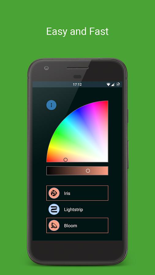 hue light philips hue app android apps download. Black Bedroom Furniture Sets. Home Design Ideas