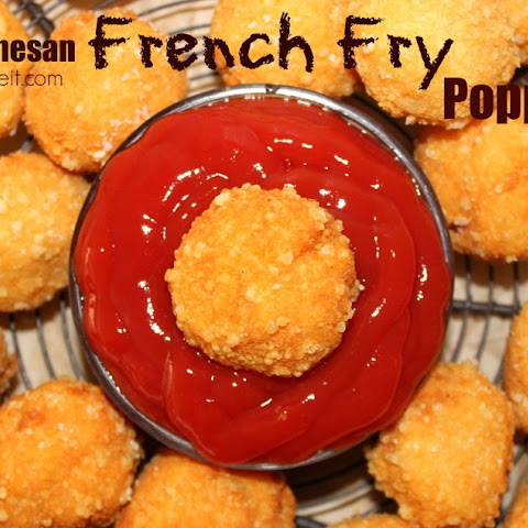 ~Parmesan French Fry Poppers!