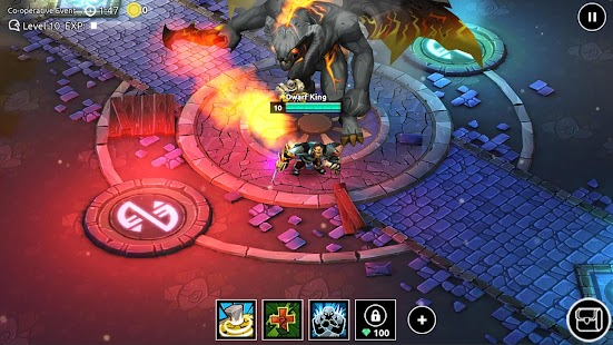 Dungeon Legends - RPG MMO Game Screenshot