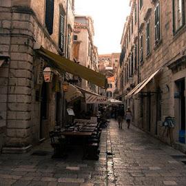 by Alenka Predic - City,  Street & Park  Street Scenes