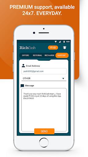 RichCash free recharge screenshot 6