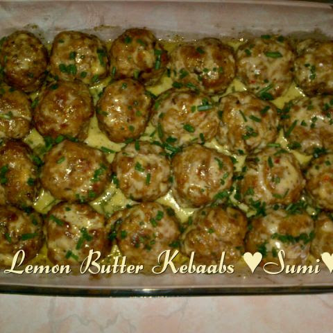 Lemon Butter Sauce For Kebaabs, Fish ,prawns Or Chicken