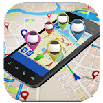 GPS Navigator and Maps Tracker Icon