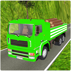 Off-road Cargo Truck 3D Icon