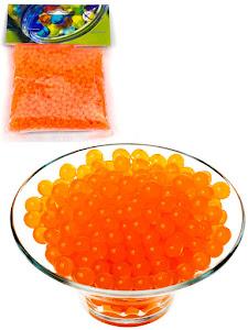Светящиеся гидрогелевые шарики S, оранжевые