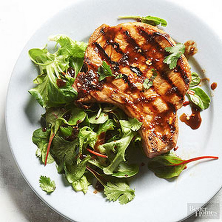 Soy-and-Ginger-Marinated Pork Chops Recipes — Dishmaps