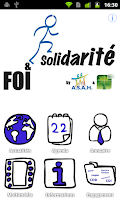 Screenshot of Foi & Solidarité