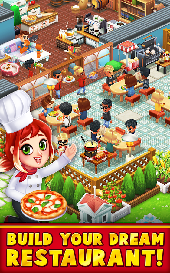 Food Street - Restaurant Management & Cooking Game Screenshot 6