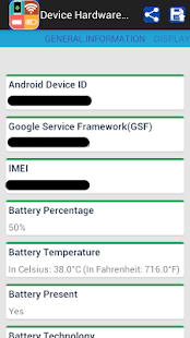 Device Hardware System Info - screenshot