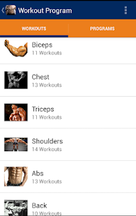 Bodybuilding & Fitness Workout - screenshot
