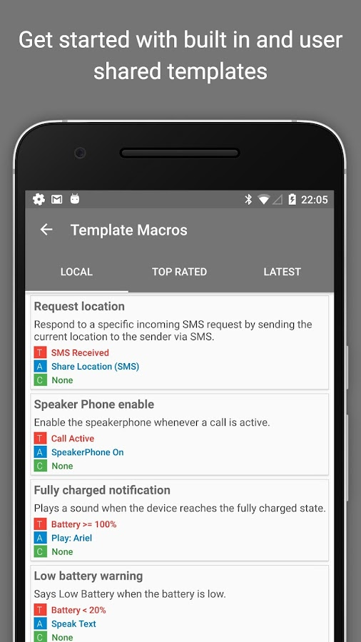MacroDroid - Device Automation Screenshot 6