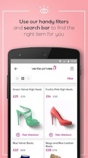 App vente privee apk for windows phone android games and apps - Vente privee com contact telephone ...