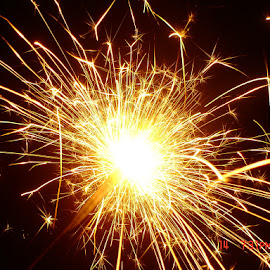 ... by Ankita Chaudhari - Abstract Fire & Fireworks ( stroke, light painting, fireworks, festival, lines, light, spark )