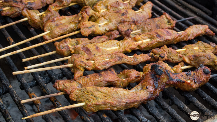 peanut sauce beef satay with spicy peanut sauce grilled beef satay ...