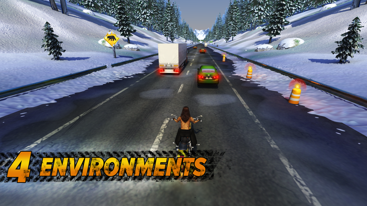 Highway Rider Screenshot 1