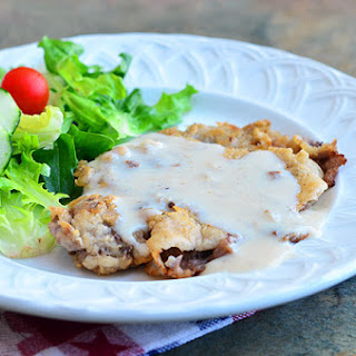 Country Fried Steak with Cream Gravy
