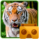 Amazon Rainforest VR Zoo Animals (Cardboard) Icon