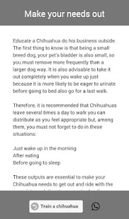 Train a Chihuahua- screenshot thumbnail