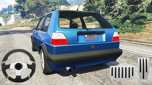 Golf Volkswagen Drift Simulator For PC